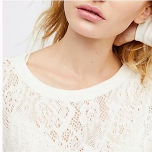 Free People Not Cold In This Top NWOT